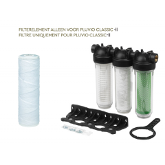Vervangbaar filterelement 25µm Pluviofilter Classic-II
